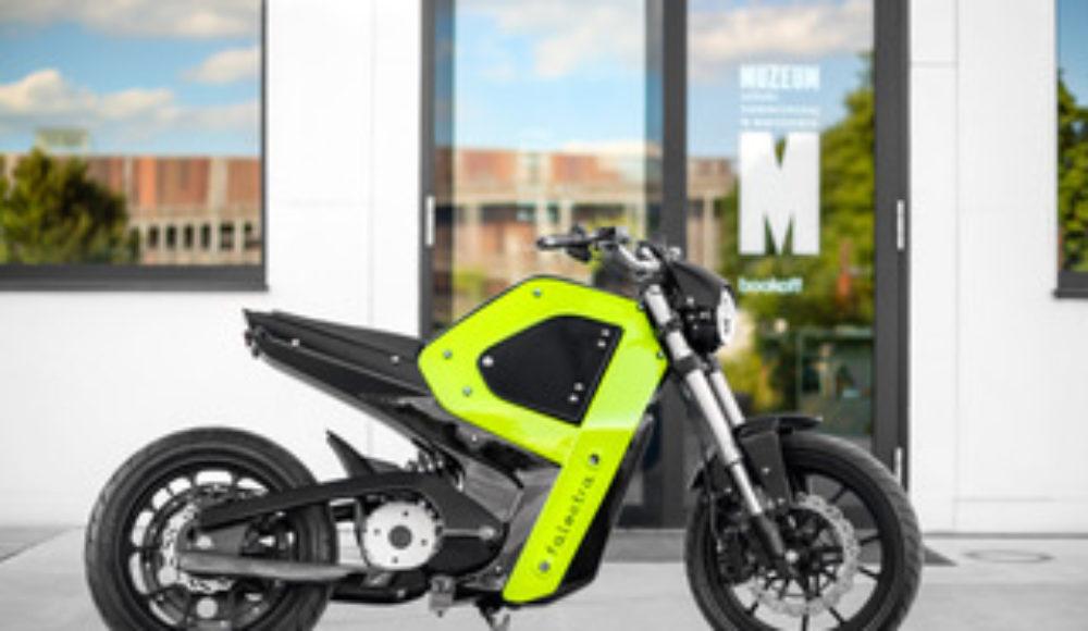 Moto elettrica creata con l'uso della stampa 3D
