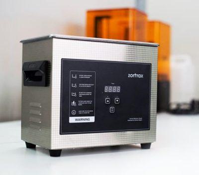 zortrax ultrasonic cleaner foto prodotto