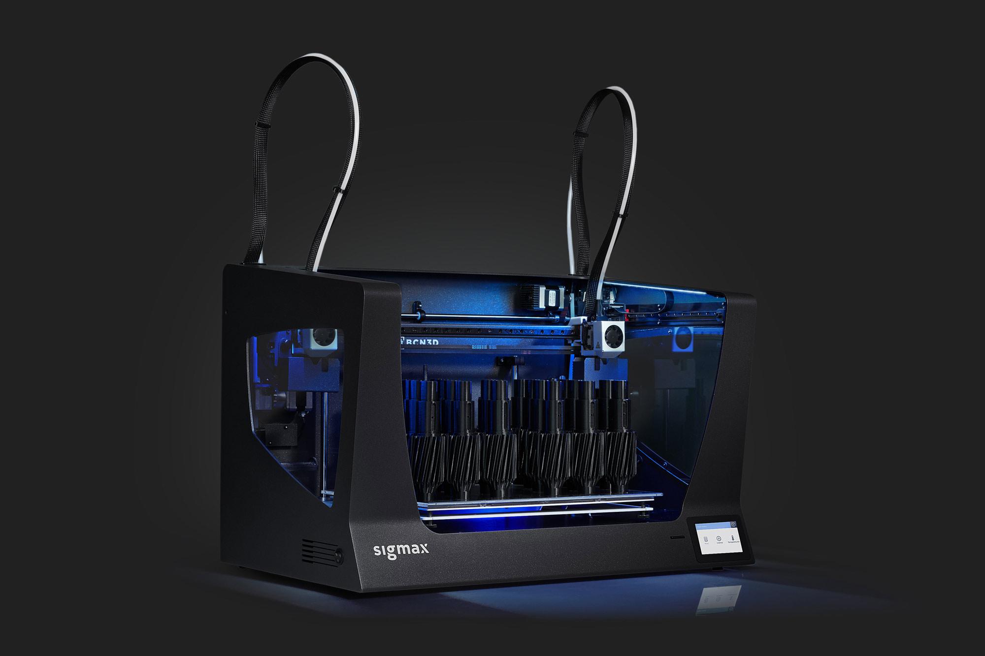 sigmax r19 bcn3d stampante 3d