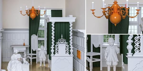 Amber Craftsman's House